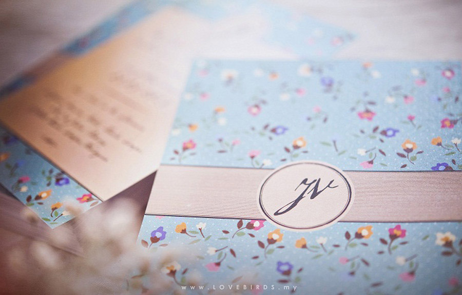 John & Vivian Wedding Invitations