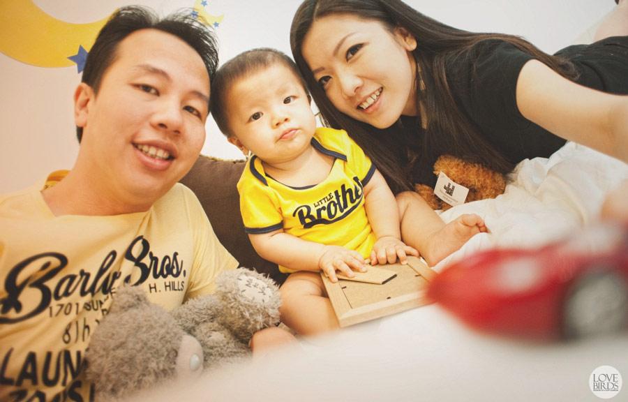 Family makes life beautiful