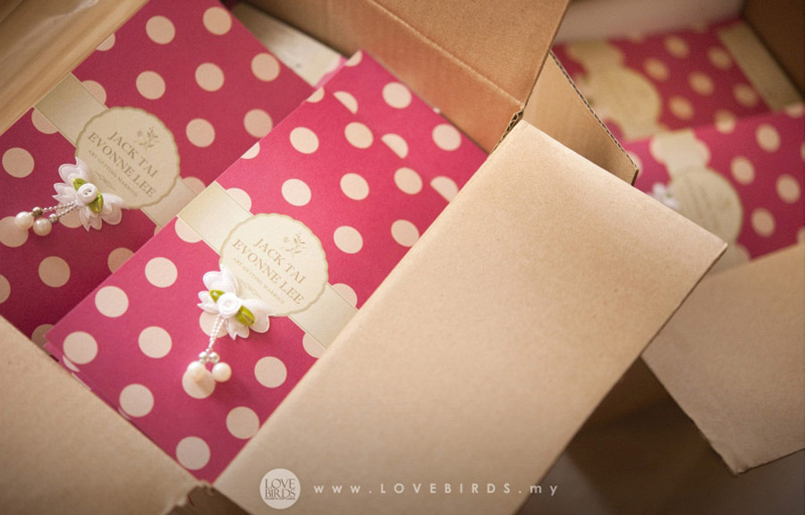 Polka Dots Wedding Invitations