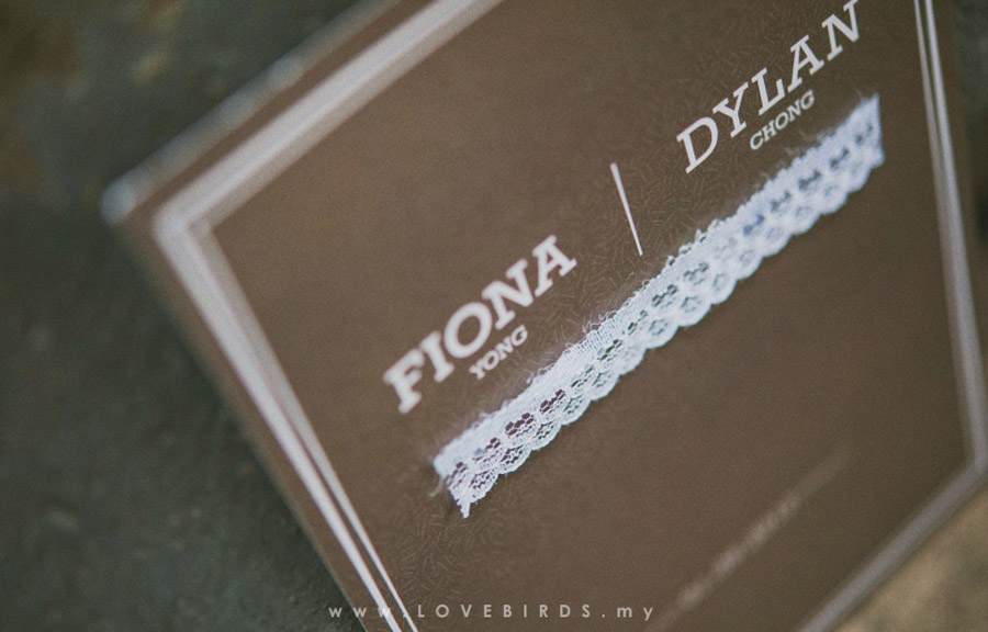 Linen Lace Wedding Invitations