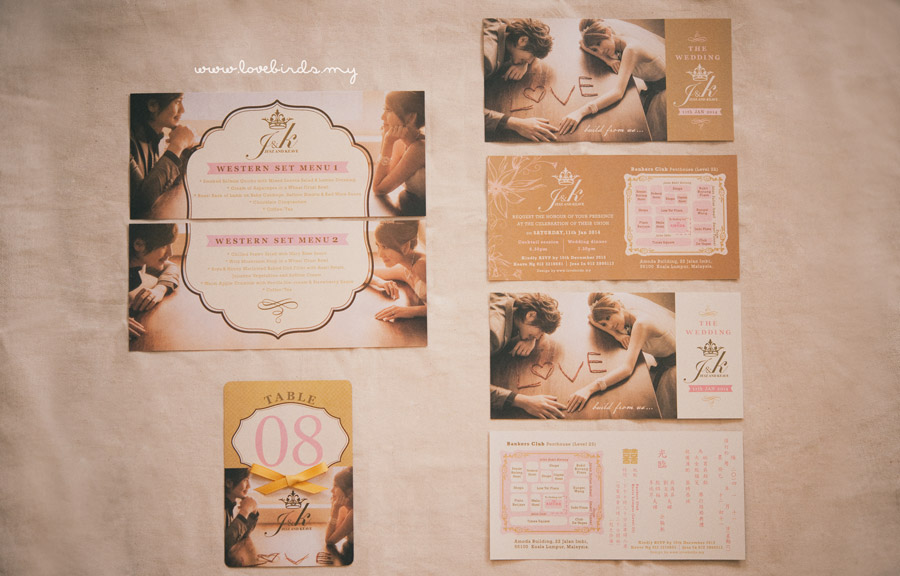 Brown & Ivory Wedding Invitations