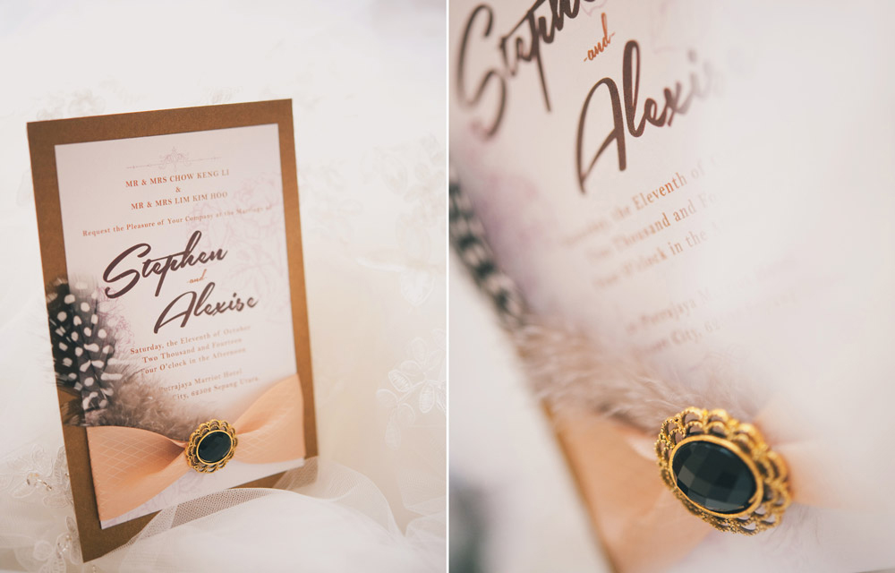Stephen & Alexise Wedding Invitations