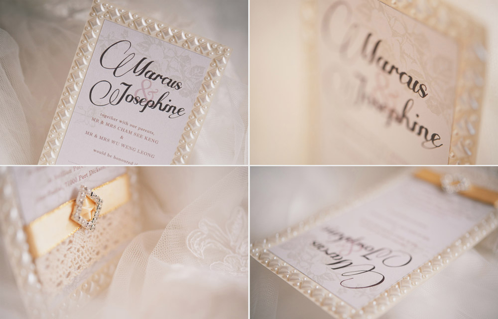 Marcus & Josephine Wedding Invitations