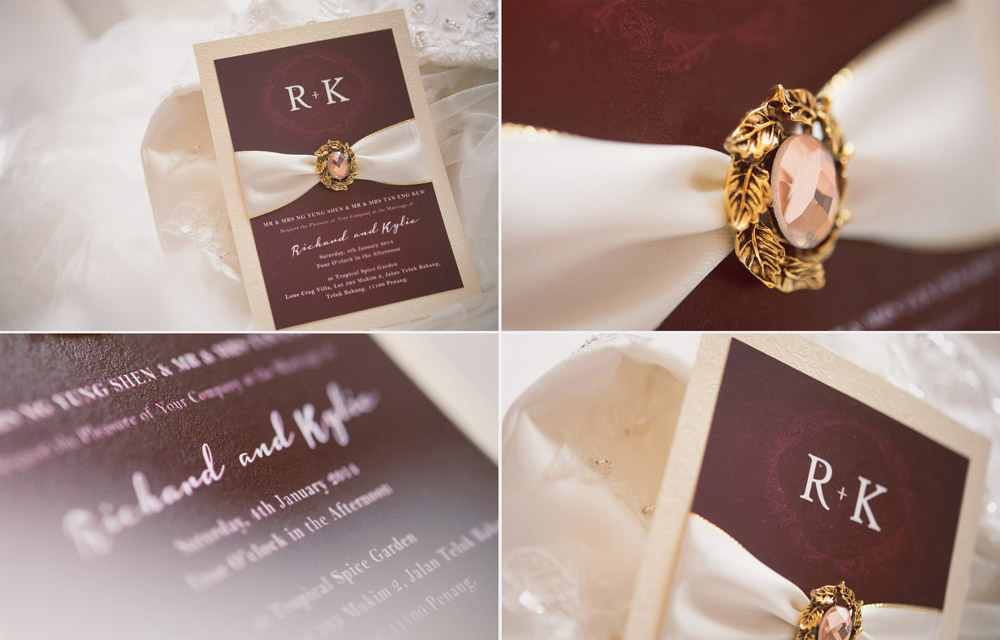 Richard & Kylia Wedding Invitations