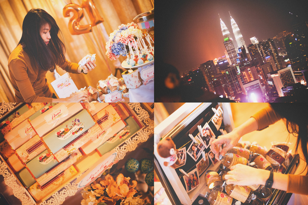Floral Birthday Party // Sweet Corner