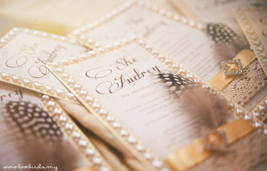 She & Audrey Wedding Invitations