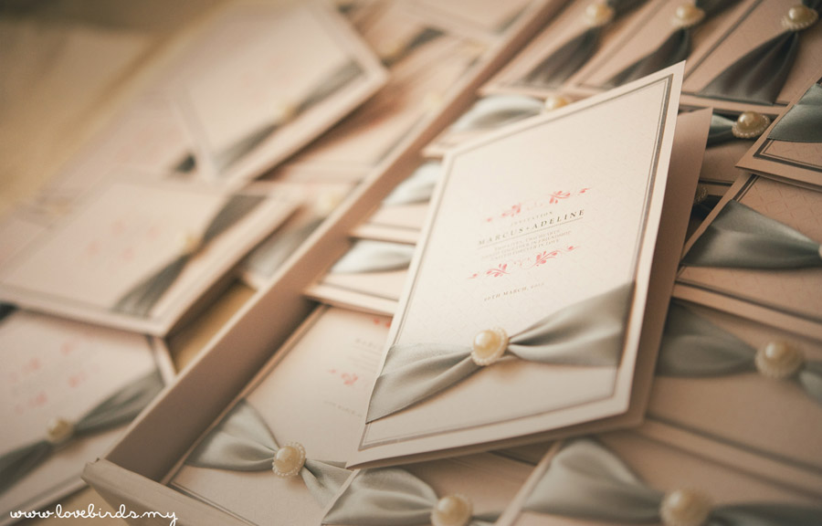 Marcus & Adeline Wedding Invitations