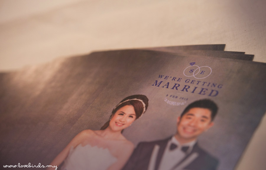 Boon Siang & Eunice Wedding Invitations