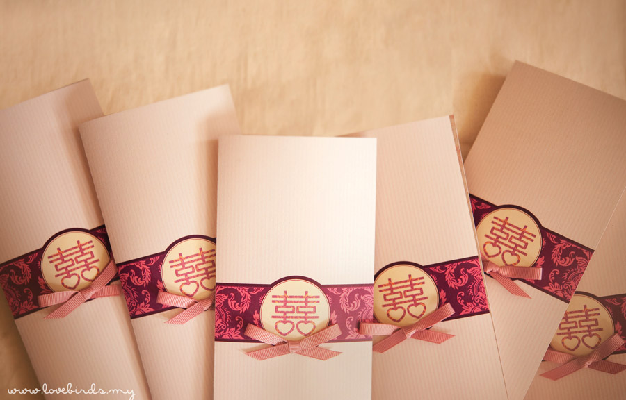 Eric & Lina Wedding Invitations