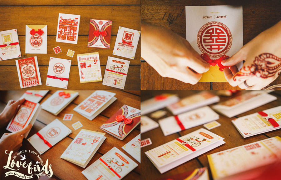 Oriental Wedding Invitations